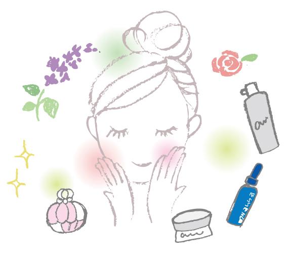 香水と女の子
